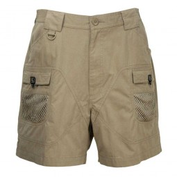 Pantalón corto de pesca Hook & Tackle Bridgewater-TAN